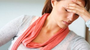 Picture of woman with adrenal fatigue